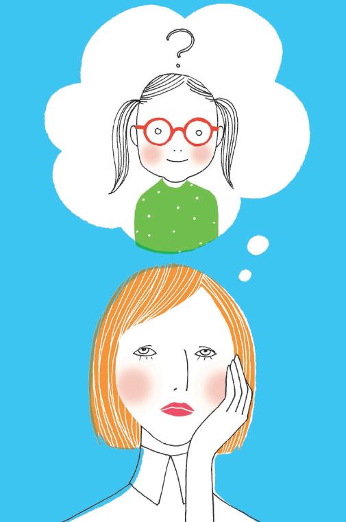 myopia control mother and kid