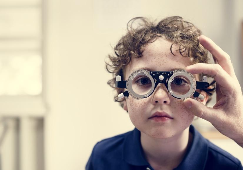 Korrektion von Kurzsichtigkeit bei Kindern