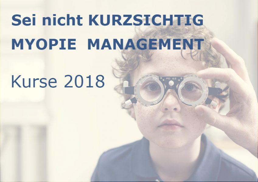 """Weiterbildung: """"Myopie Management bei Kindern und Jugendlichen"""""""