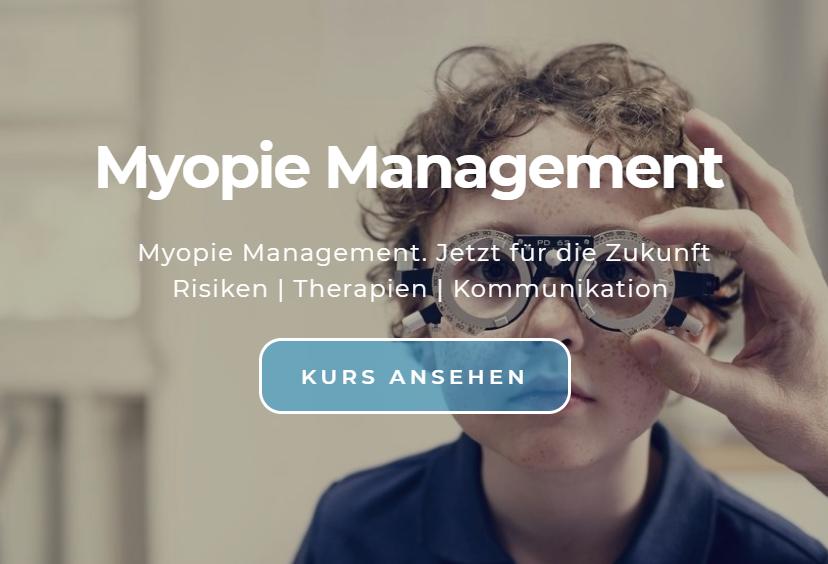 Weiterbildung Myopie Management