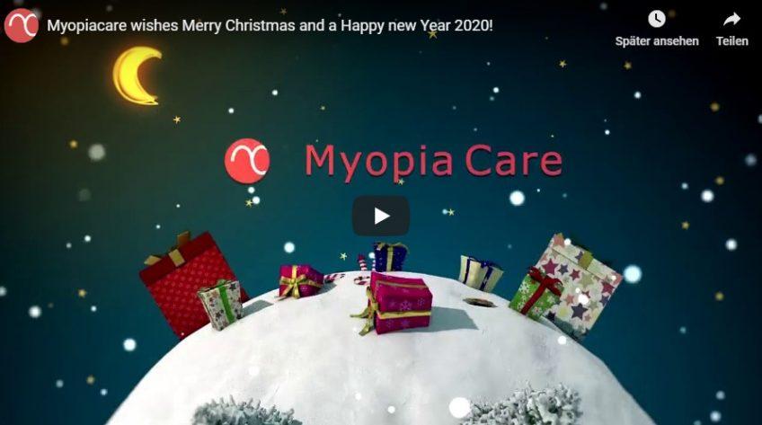 Frohe Weihnachten und ein guter Rutsch ins neue Jahr von Myopia Care