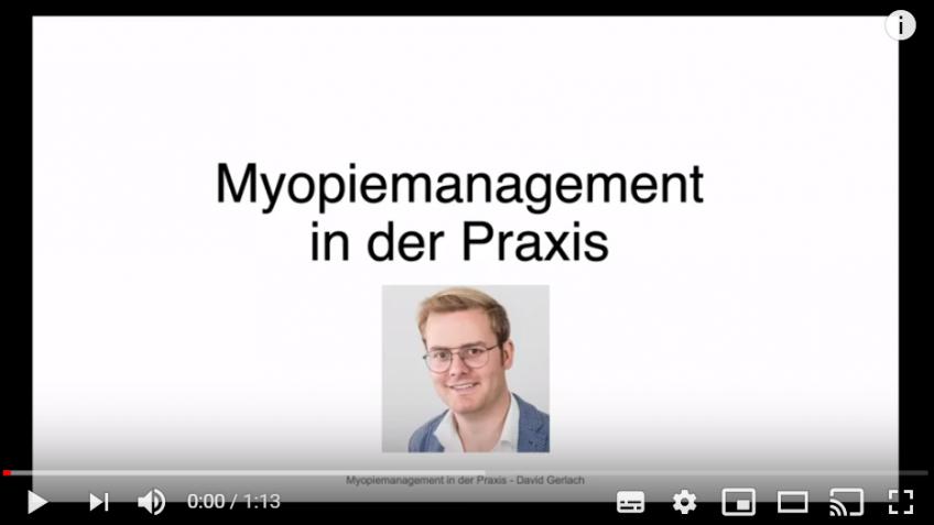 Update Myopie Management Kurs